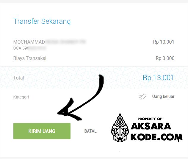 Kirim Uang Untuk Transfer Lewat Jenius